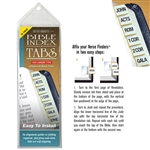 Gold Tabs (XL Print) - Horizontal Bible Index Tabs Pack