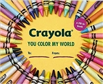 Crayola: You Color My World: A Fill-In Book