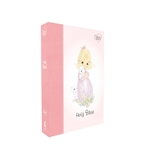 NKJV Precious Moments Small Hands Bible - Pink (Hardcover)