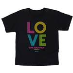 Love One Another Kids T-Shirt 3T