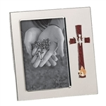 Cross, Dove, and Flame Confirmation Frame