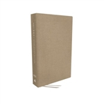 NKJV Journaling Bible, Interleaved Edition (Tan)