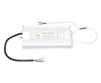 12V 72W (6A) UL-Listed, Waterproof LED Driver for 12VDC Low Voltage LED Strip Lighting, LED Puck Lights, LED Bars. Hardwired connection for LED up to 72W.