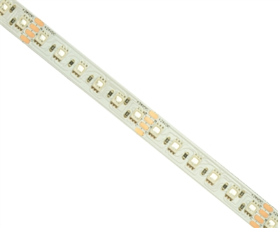 Commercial (Architectural) Grade Waterproof Color Changing RGB LED Strip. Med Density (60/M), High Output (3 Watts/foot), 16ft Roll, 5050 RGB Chip. Use in cove lighting, cabinet lighting, holiday lighting, hospitality lighting.