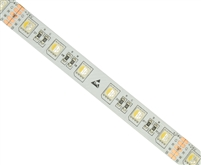 Color Changing and True White LED Strip (RGBW). For true white and color changing functionality.