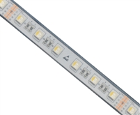 RGBW Color Changing and White IP-67 Waterproof LED Strips for outdoor use. Use for RGBW landscape lighting, outdoor accent lighting, and more. 24V comes in 16.4' roll and is cuttable every 4""