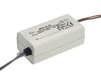 24V 8W Electronic driver for indoor use with LED lights.