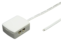Power distribution system for low voltage LED luminaries. Connect up to (4) LED luminaries to one terminal block to achieve clean, code-compliant installations.