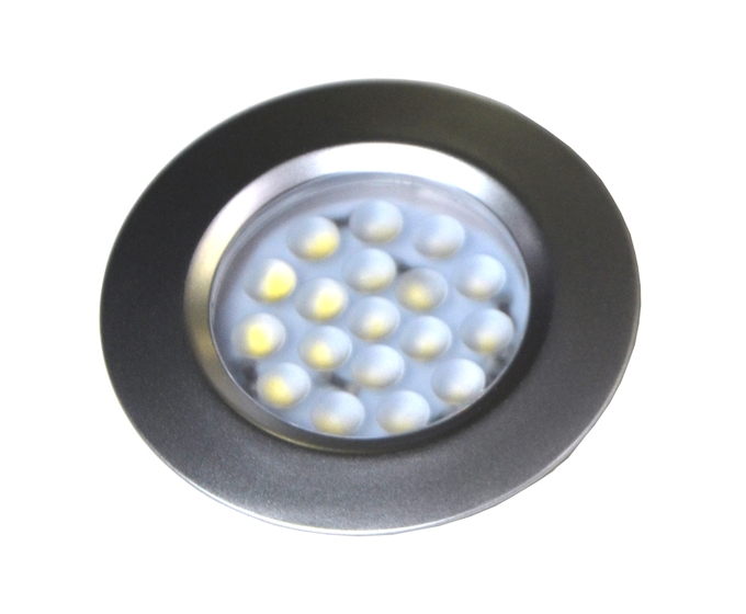 Proffesional grade led 2w 2inch recess flush mount puck light for larger photo mozeypictures