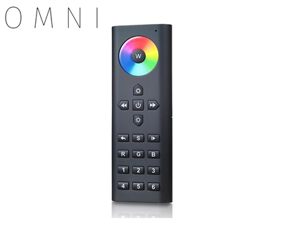 Remote Controller used to operate LED RGB Color Changing Lights in up to 6 zones.
