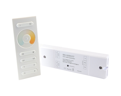 Remote Controller used to operate LED CCT Color Changing Lights.