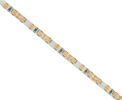 Commercial (Architectural) Grade LED Strip. 3528 LED chips, High Density 120 LEDs/M, Indoor Grade (IP23) in a 16 foot roll. Use inside of Aluminum housings to build a professional linear LED fixture. Top-Quality LED Strips for maximum lifetime.