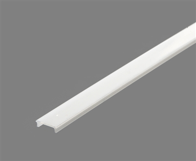 Extra lens for aluminum extrusion, housing, profile J for bright LED Strip and LED Strip lighting. Available in clear or white finishing.