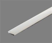 Extra lens for aluminum extrusion, housing, profile N2 for bright LED Strip and LED Strip lighting. Available in frosted finishing.