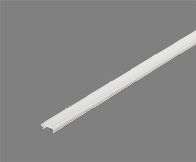Extra lens for aluminum extrusion, housing, profile O2 for bright LED Strip and LED Strip lighting. Available in frosted finishing.