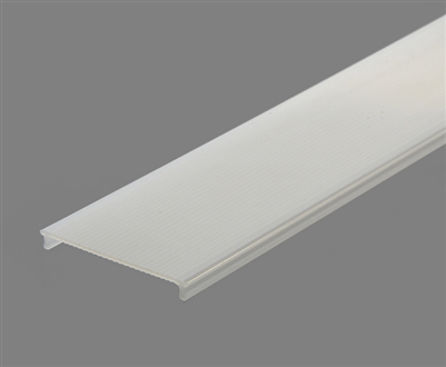 Extra lens for aluminum extrusion, housing, profile P6 for bright LED Strip and LED Strip lighting. Available in frosted finishing.