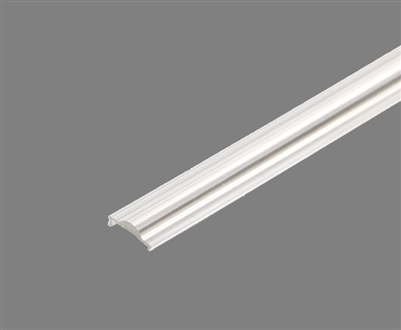 Extra lens for aluminum extrusion, housing, profile S3 for bright LED Strip and LED Strip lighting. Available in semi-clear or white finishing.
