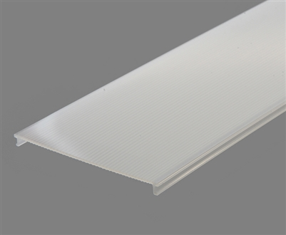 Extra lens for aluminum extrusion, housing, profile Y3 for bright LED Strip and LED Strip lighting. Available in frosted finishing.