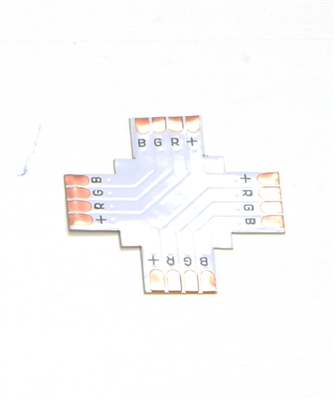 4 PIN RGB IP23 CROSS CONNECTOR