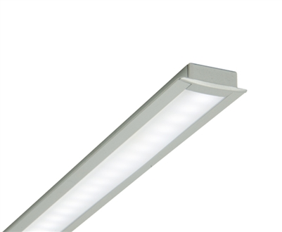 4-5ft Custom Made Recessed Linear Low-Voltage LED Light for Cabinets, Shelving, Millwork, and More. UL-Listed and built to your custom sizes.