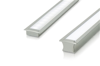 "Cut-to-Size, Built-to-Size Recessed Linear LED Bar with Medium High Light Output 200 lumens/foot. Available in 48""-60"" inch length. Mounting hardware, 8ft of Wire, Smart Connector Included"