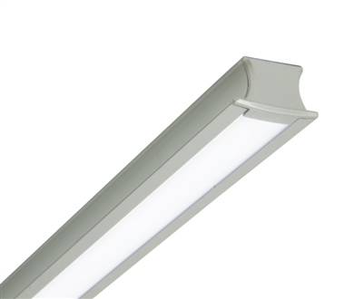 Up to 2ft Custom Made Recessed Linear Low-Voltage LED Light for Cabinets, Shelving, Millwork, and More. UL-Listed and built to your custom sizes.