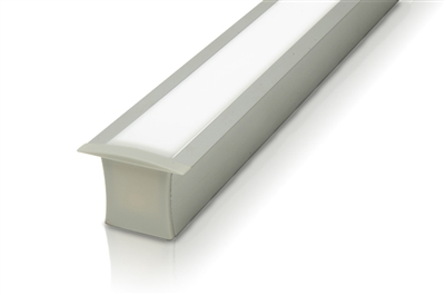 "Cut-to-Size, Built-to-Size Recessed High Output Linear LED Bar up to 24"". High Output 400 lumens/foot for bright LED lighting."
