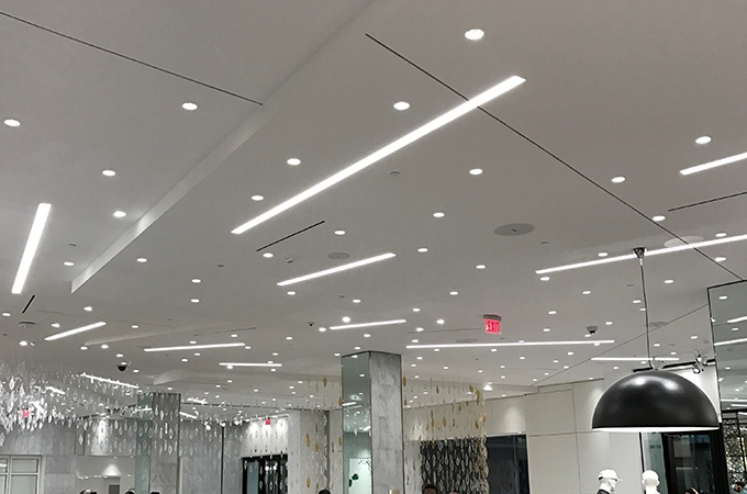 1 Wide Recessed Linear Led Bar 24 36