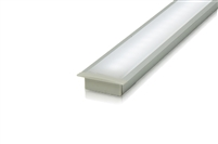 "Cut-to-Size, Built-to-Size Recessed Linear LED Bar with Medium High Light Output 200 lumens/foot. Available in 48"" - 60"" inch length. Mounting hardware, 8ft of Wire, Smart Connector Included"