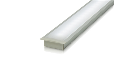 "Cut-to-Size, Built-to-Size Recessed Linear LED Bar with Medium High Light Output 200 lumens/foot. Available in 60"" - 72"" inch length. Mounting hardware, 8ft of Wire, Smart Connector Included"