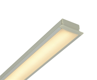 6-8ft Custom Made Recessed Linear Low-Voltage LED Light for Cabinets, Shelving, Millwork, and More. UL-Listed and built to your custom sizes.