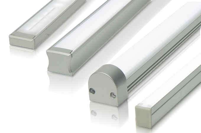 Linear Led Bar With Bright Strip