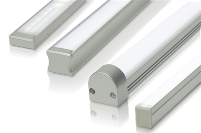 "Cut-to-Size, Built-to-Size slim, low profile linear LED bar 49""-60"". 300 lumens/ foot. Use in under-cabinet, over cabinet, and in cabinet linear LED lighting. Slim Low Profile design, easy to conceal."