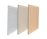 "LED Panels for backlighting stone and translucent materials. 12"" x 12"" Sample available in Warm White, Natural White, or Bright White. Easy configuration for plug-and-play functionality."