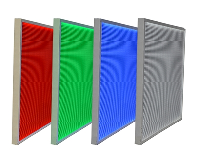 "LED Panels for backlighting stone and translucent materials. 12"" x 12"" Sample available in color changing and true white RGBW. Easy configuration for plug-and-play functionality."