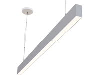 "4ft 1.5"" x 3"" Suspended Linear High Output Compact LED Light Fixture"
