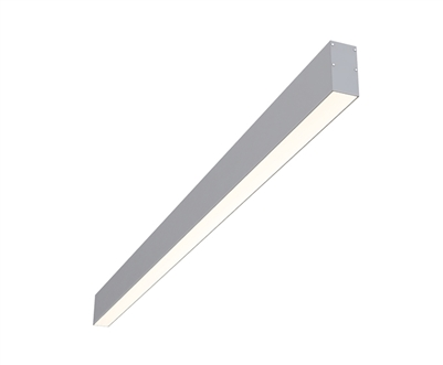 "8ft 1.5"" x 3"" Surface Mounted High Output Linear LED Fixture"