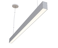 "6ft 2"" x 3"" Linear Suspended High Output LED Light Fixture"