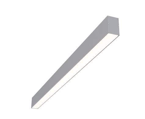 "8ft 2"" x 3"" Surface Mounted Linear High Output LED Fixture"