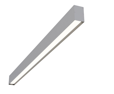 "6ft 2"" x 3"" Low-Glare Surface Mounted Linear High Output LED Fixture"