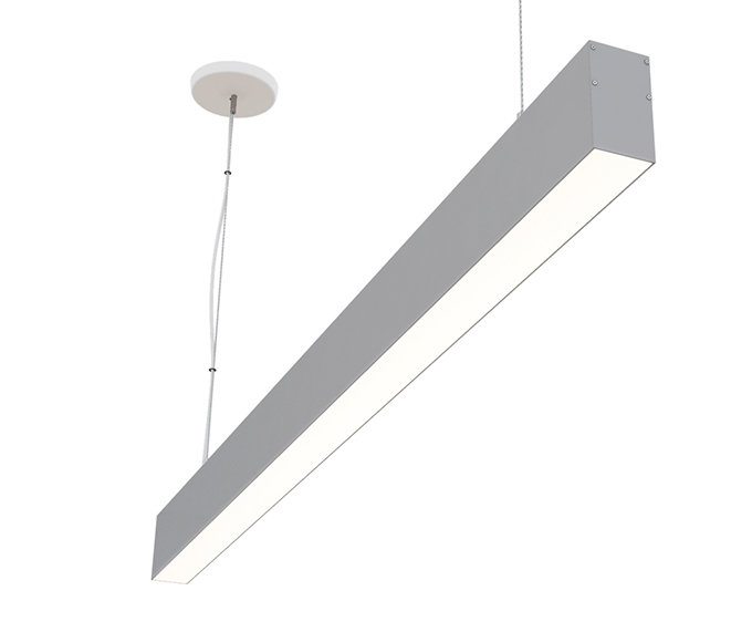 6 Foot 68 Direct Linear Led Fixture For Suspension Pendant Mounting