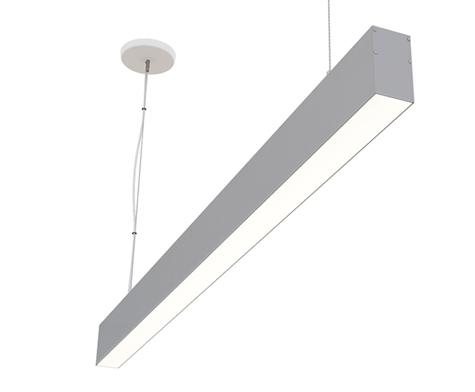 "8ft 2"" x 4"" Suspended Linear High Output LED Light Fixture Up Down Light"