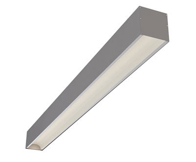 "8ft 3.6"" x 3.3"" Low Glare Surface Mount High Output Linear LED Light Fixture"