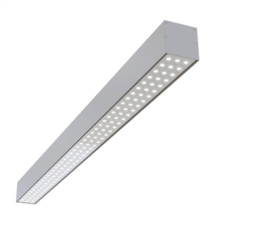 "2ft 3"" x 3"" Linear Surface Mounted High Output Ultra Bright Highly Efficient LED Light Fixture"