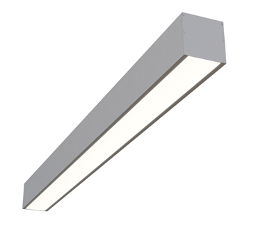"4ft 3.6"" x 3.3"" Low-Glare Linear Surface Mounted High Output LED Fixture"