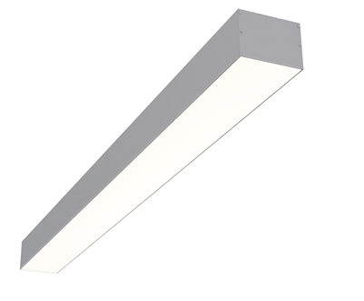 "8ft 4"" x 3"" Linear Surface Mounted High Output LED Light Fixture"
