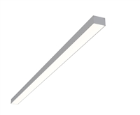"4ft 2"" x 1.3"" Linear Surface Mounted High Output Slim Compact LED Light Fixture"