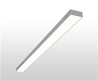 "4ft 3"" x 1.3"" Linear Surface Mounted High Output Slim Wide LED Light Fixture"