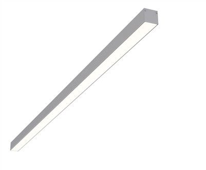 "4ft 1.4"" x 1.3"" Linear Surface Mounted High Output Slim Compact LED Light Fixture"