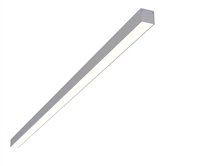 "8ft 1.4"" x 1.3"" Linear Surface Mounted High Output Slim Compact LED Light Fixture"